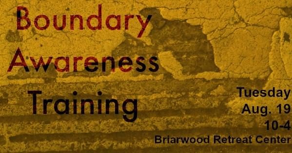 Boundary Awareness Training | NTNL.org