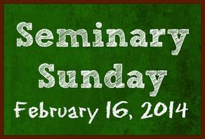 Seminary Sunday