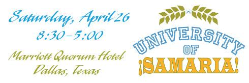 University of ¡SAMARIA! April 26 | NTNL.org