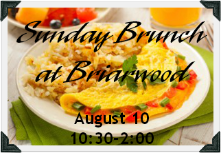 Briarwood Brunch text border