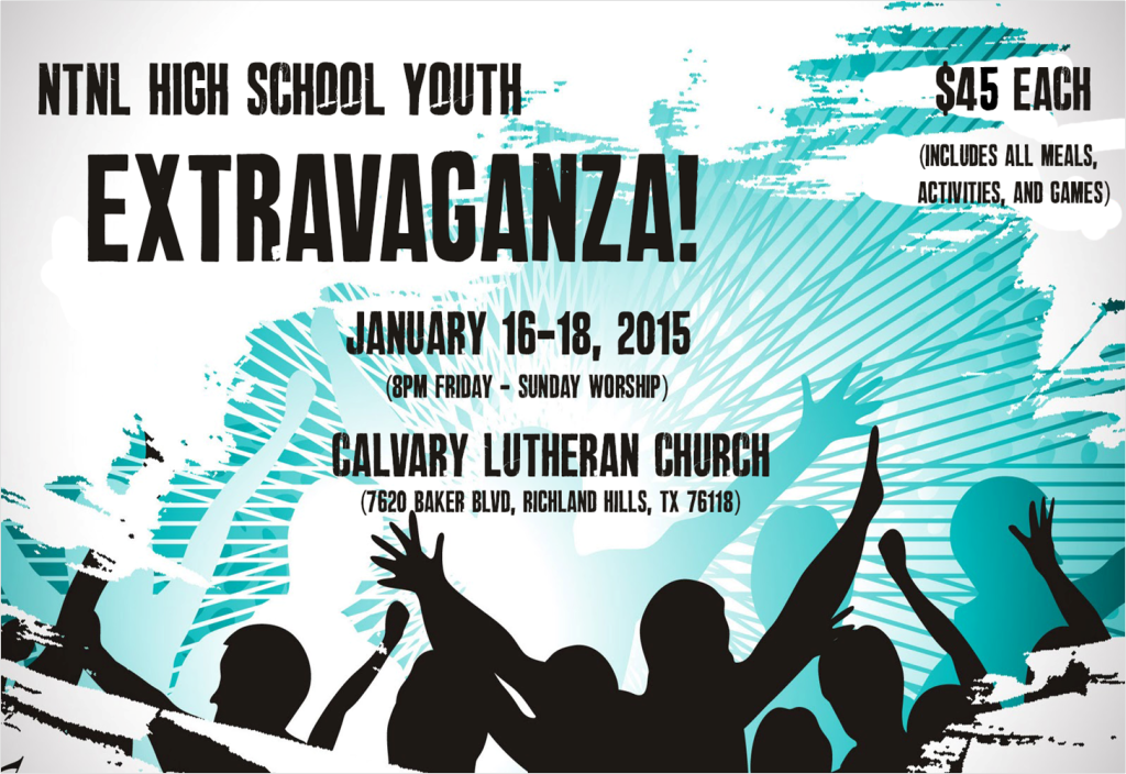 2015 NT-NL HS Extravaganza poster