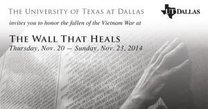 The Wall That Heals - Nov. 20-23, 2014