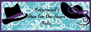 2015 Briarwood Gala: Run for the Roses logo