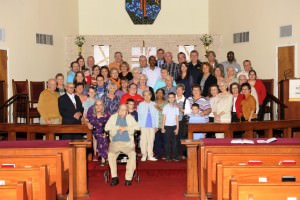 Members of Grace Lutheran Church in Fort Worth on their 110th anniversary