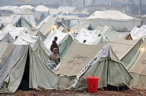 Syrian Refugee Camp Tents