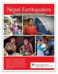 [Image of the front cover of the Nepal Earthquake: Six Months Later PDF resource.]