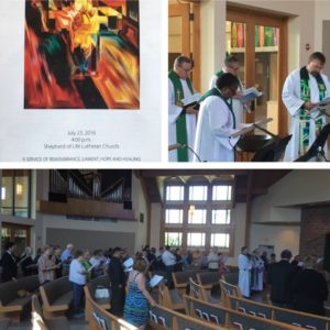 Service of Remembrance, Lament, Hope, and Healing (July 23, 2016)